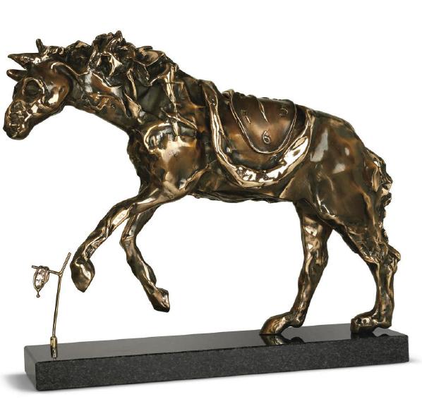 Horse Saddled With Time ~ Salvador Dali