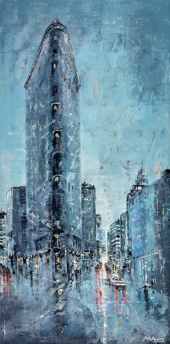 Blues and Twos, NYC ~ Mark Curryer