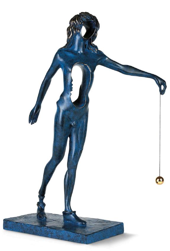 Surrealist Newton ~ Salvador Dali