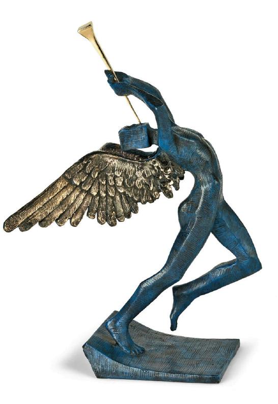 Triumphant Angel ~ Salvador Dali