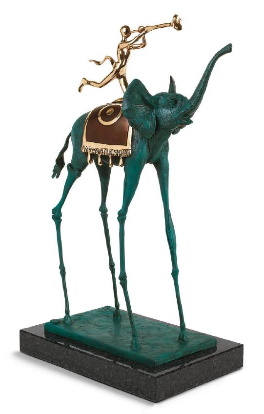 Triumphant Elephant ~ Salvador Dali