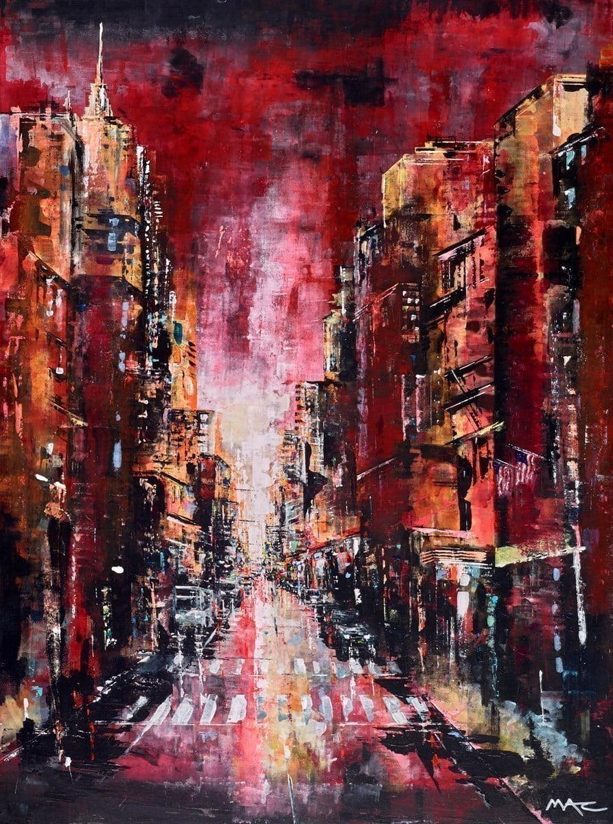 Dusk Til Dawn, NYC ~ Mark Curryer