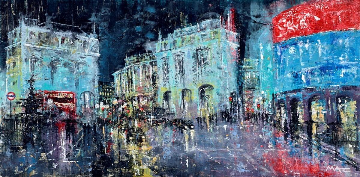 Rainy City Nights ~ Mark Curryer