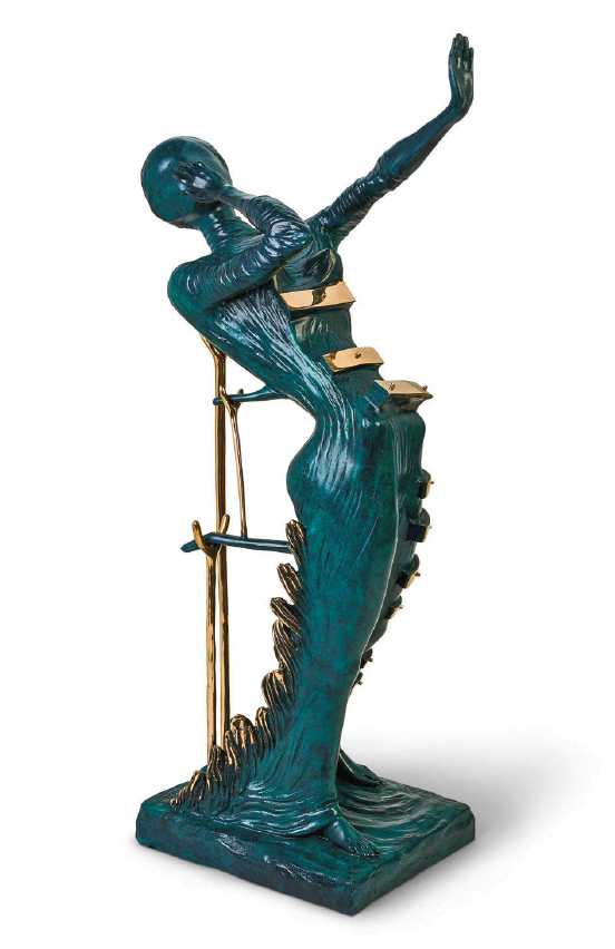 Woman Aflame ~ Salvador Dali
