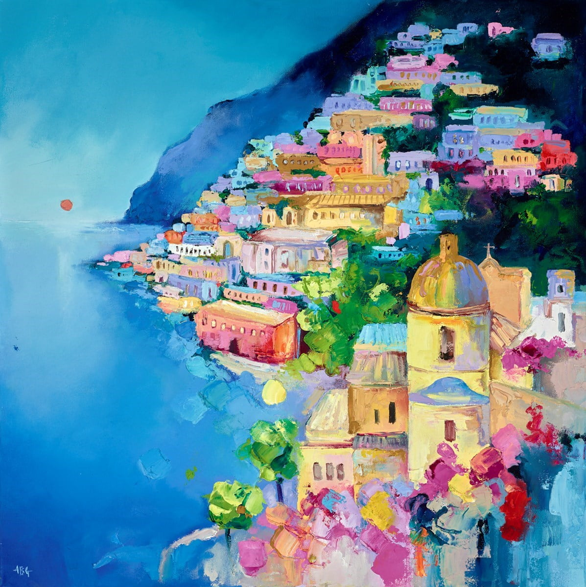 Amalfi Evening ~ Anna Gammans