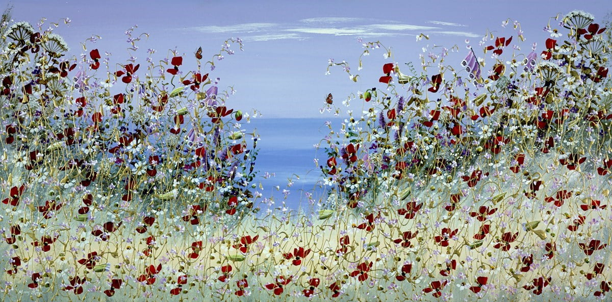 View Across The Sea II ~ Mary Shaw