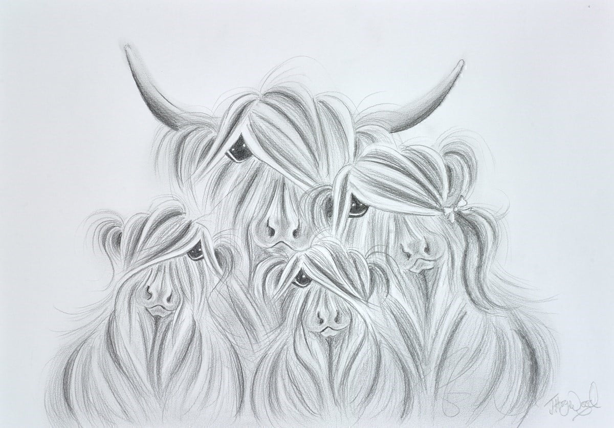 Our Baby McMoos Sketch ~ Jennifer Hogwood