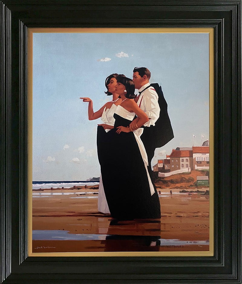 The Missing Man II ~ Jack Vettriano