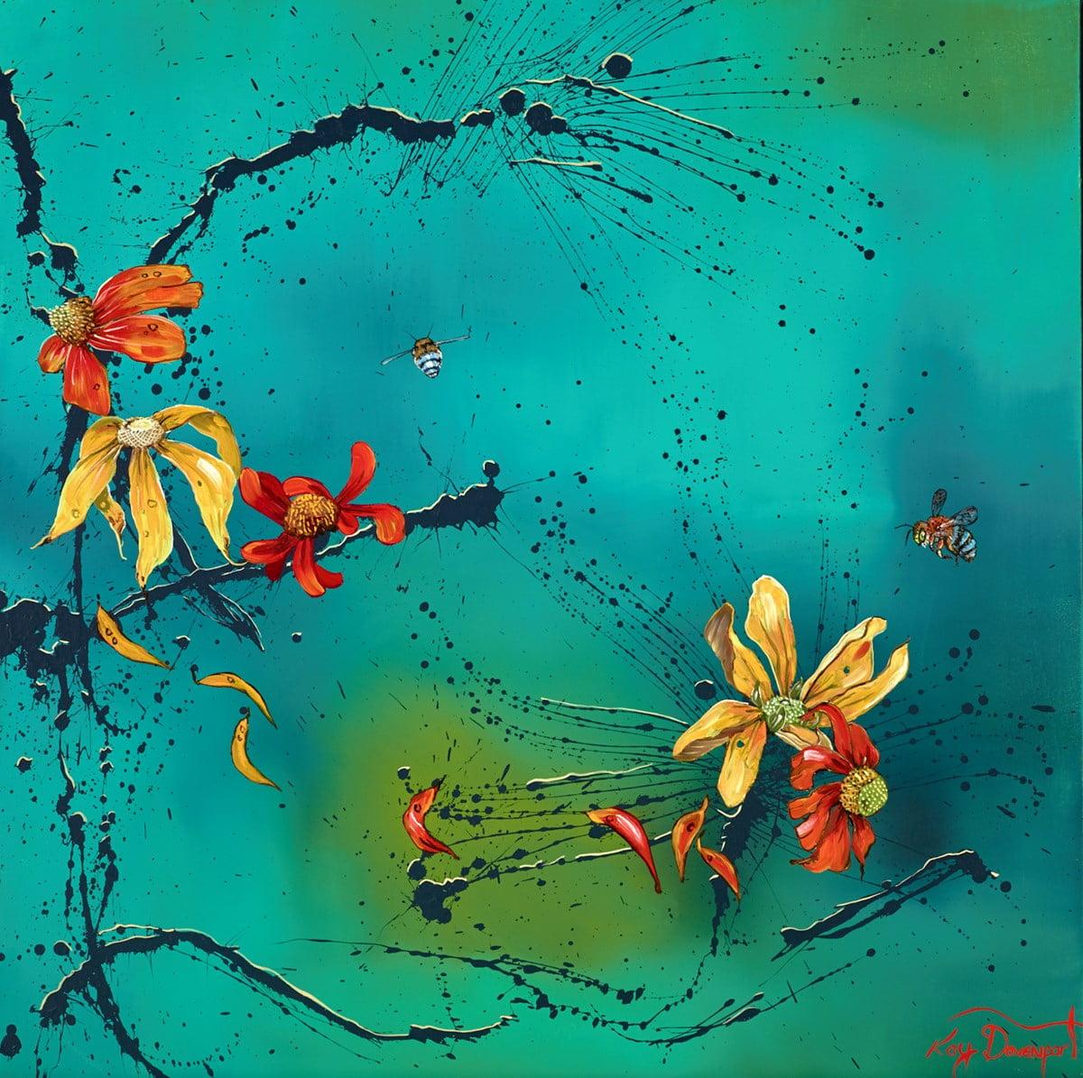 Autumn Buzz I ~ Kay Davenport