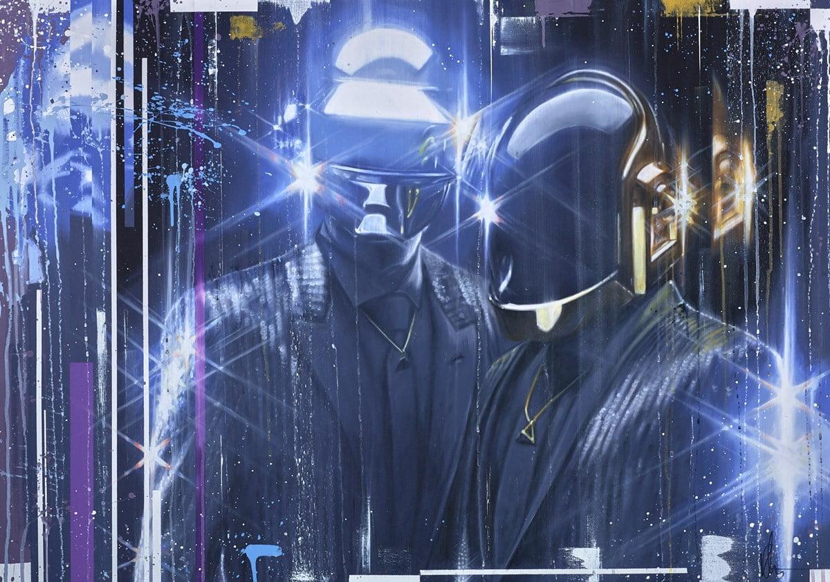 Daft Punk ~ Kris Hardy