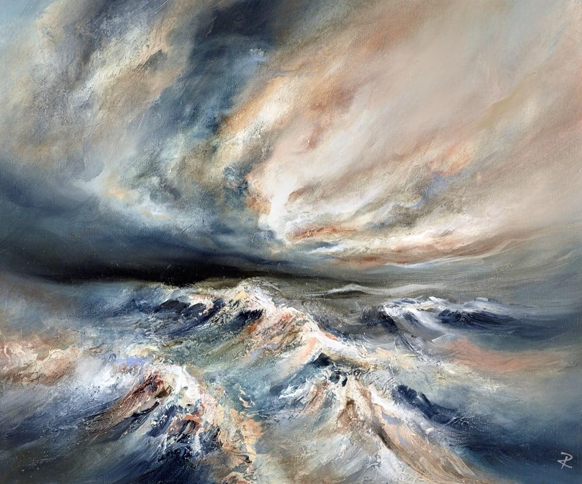 Turbulent Shores ~ Chris and Steve Rocks