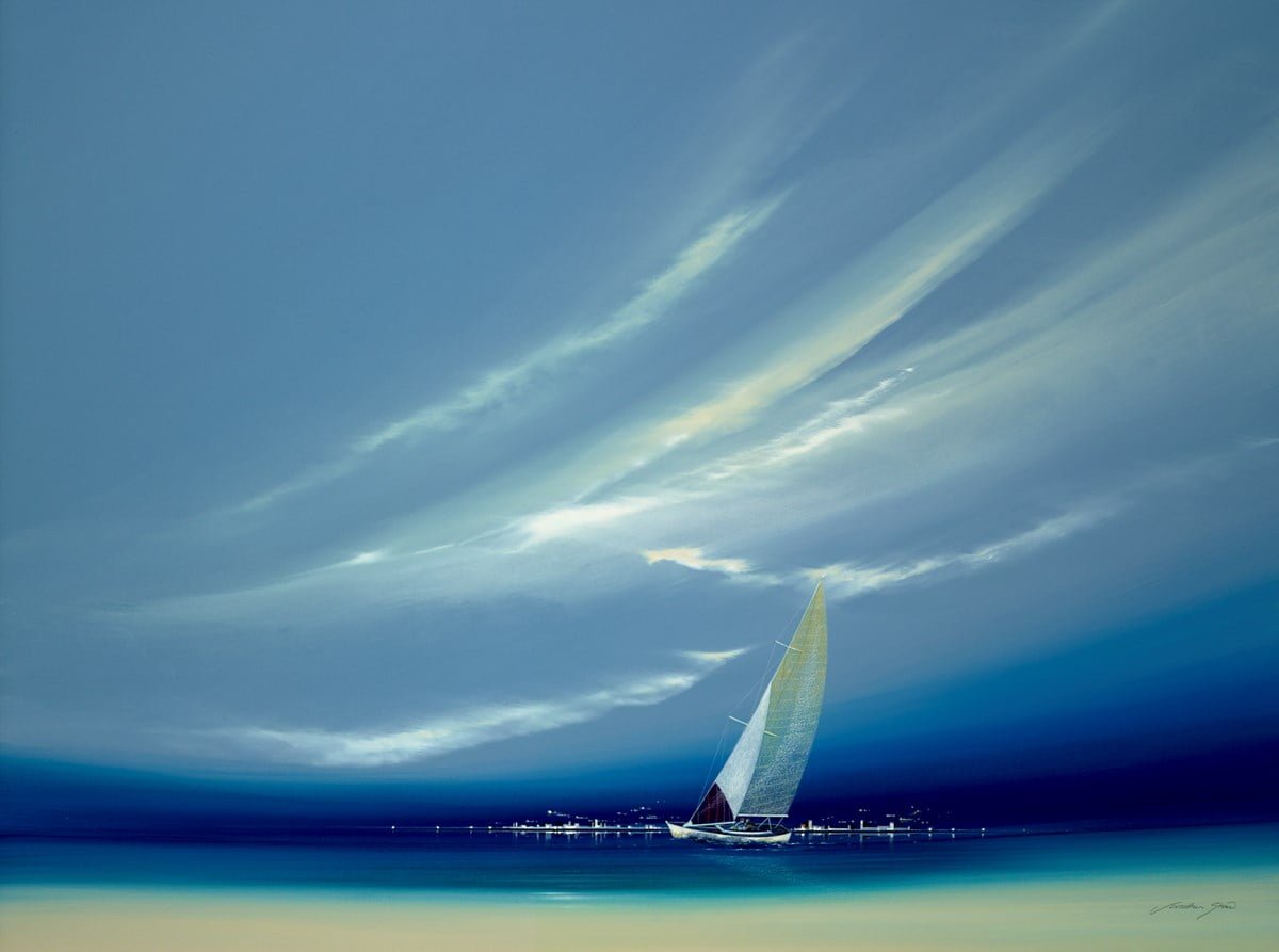 Wedgewood Sail Boat I ~ Jonathan Shaw