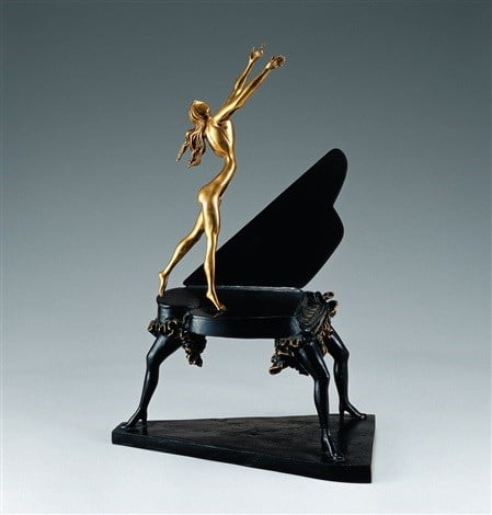 Surrealist Piano (Museum Edition) ~ Salvador Dali