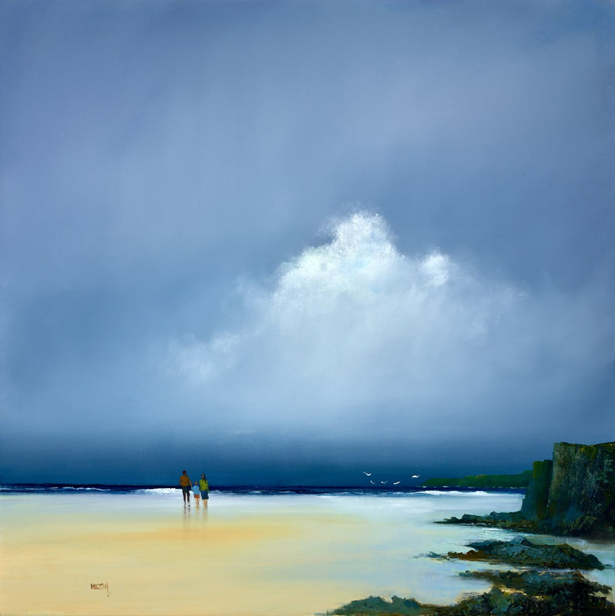 Beach Walk ~ Barry Hilton