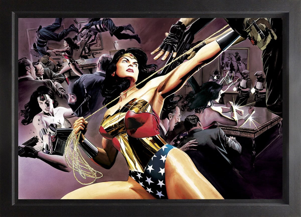 Wonder Woman: Defender Of Truth (Box Canvas Deluxe) ~ DC