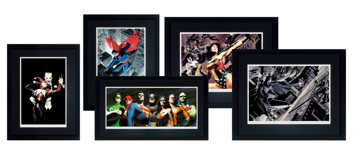 DC Characters – Collectors Edition Bundle ~ Alex Ross