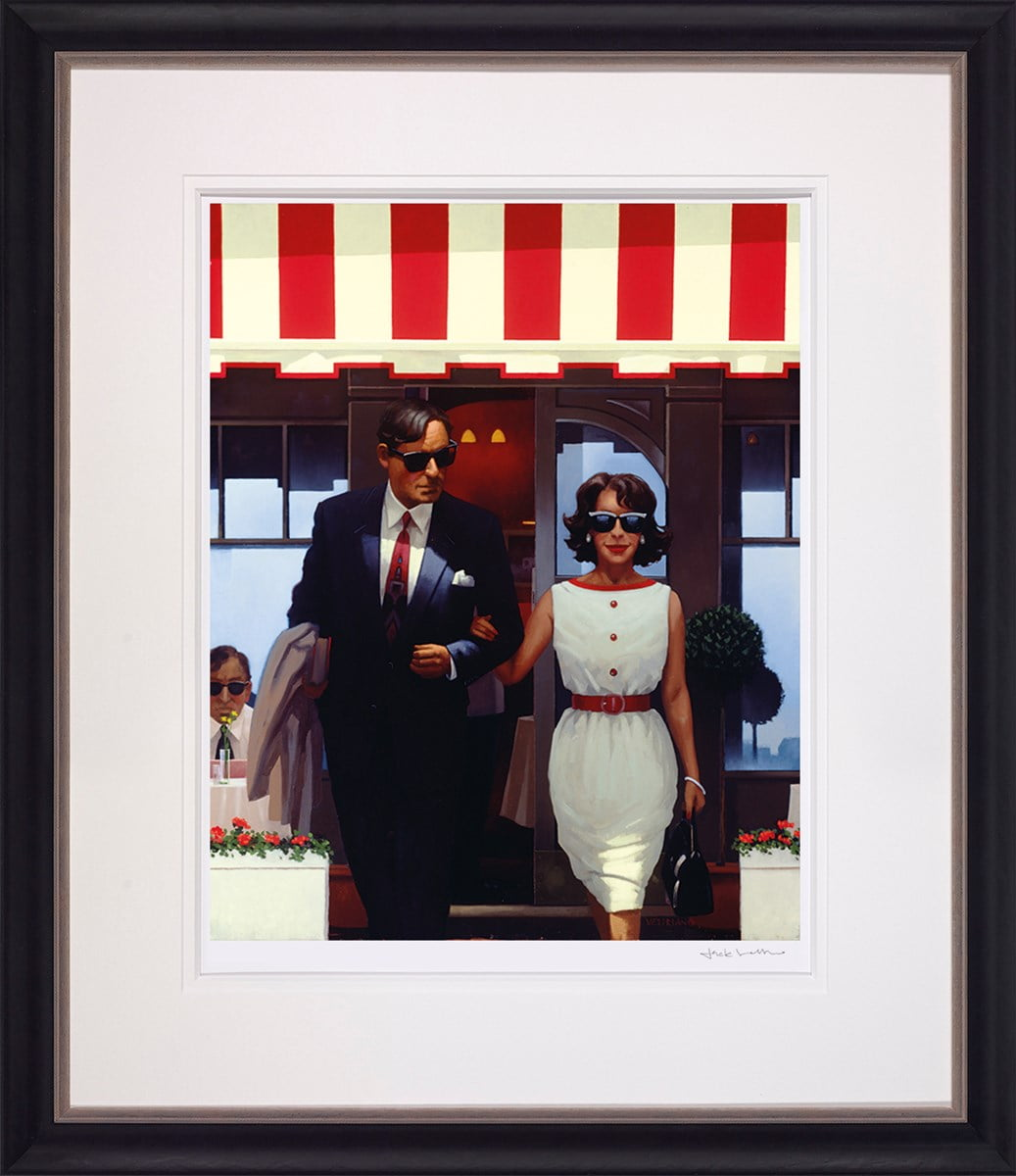 Lunchtime Lovers ~ Jack Vettriano