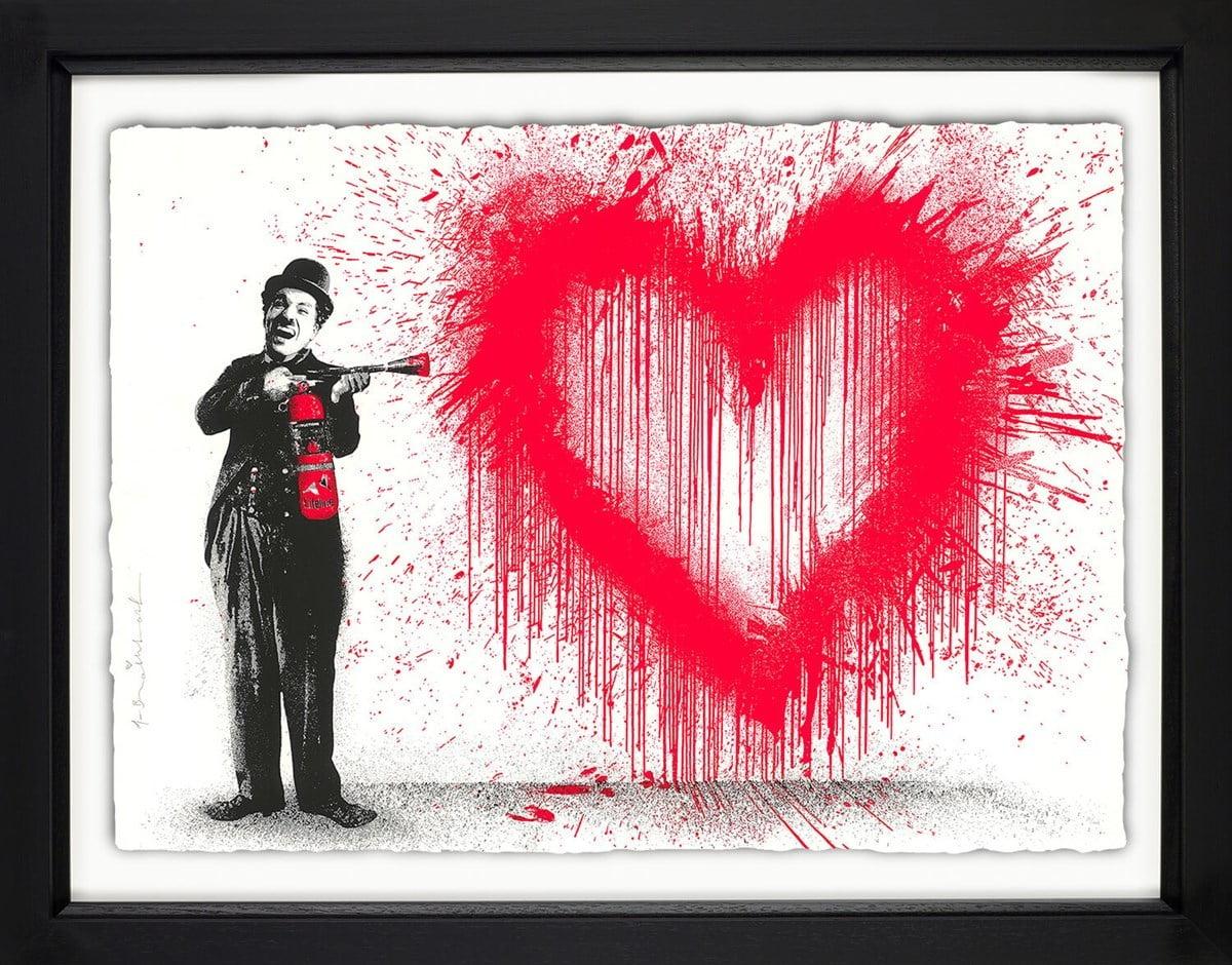 Spray Love ~ Mr Brainwash