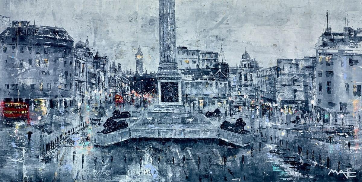 No Pigeons, London ~ Mark Curryer