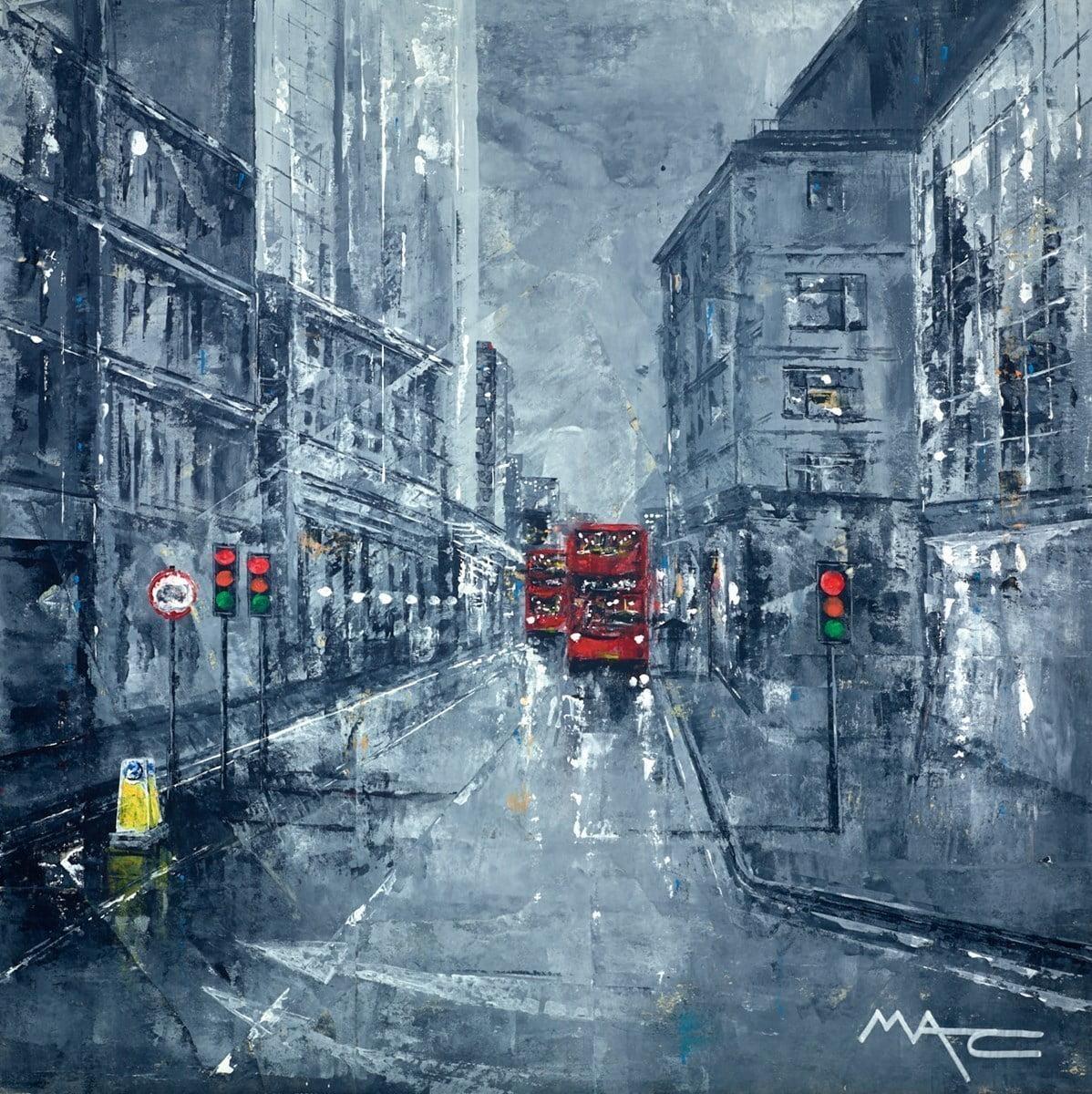 Buses in Backstreets, London ~ Mark Curryer
