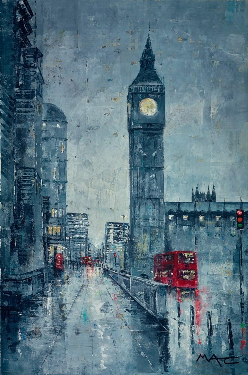 Turn Right For Lambeth Bridge, London ~ Mark Curryer
