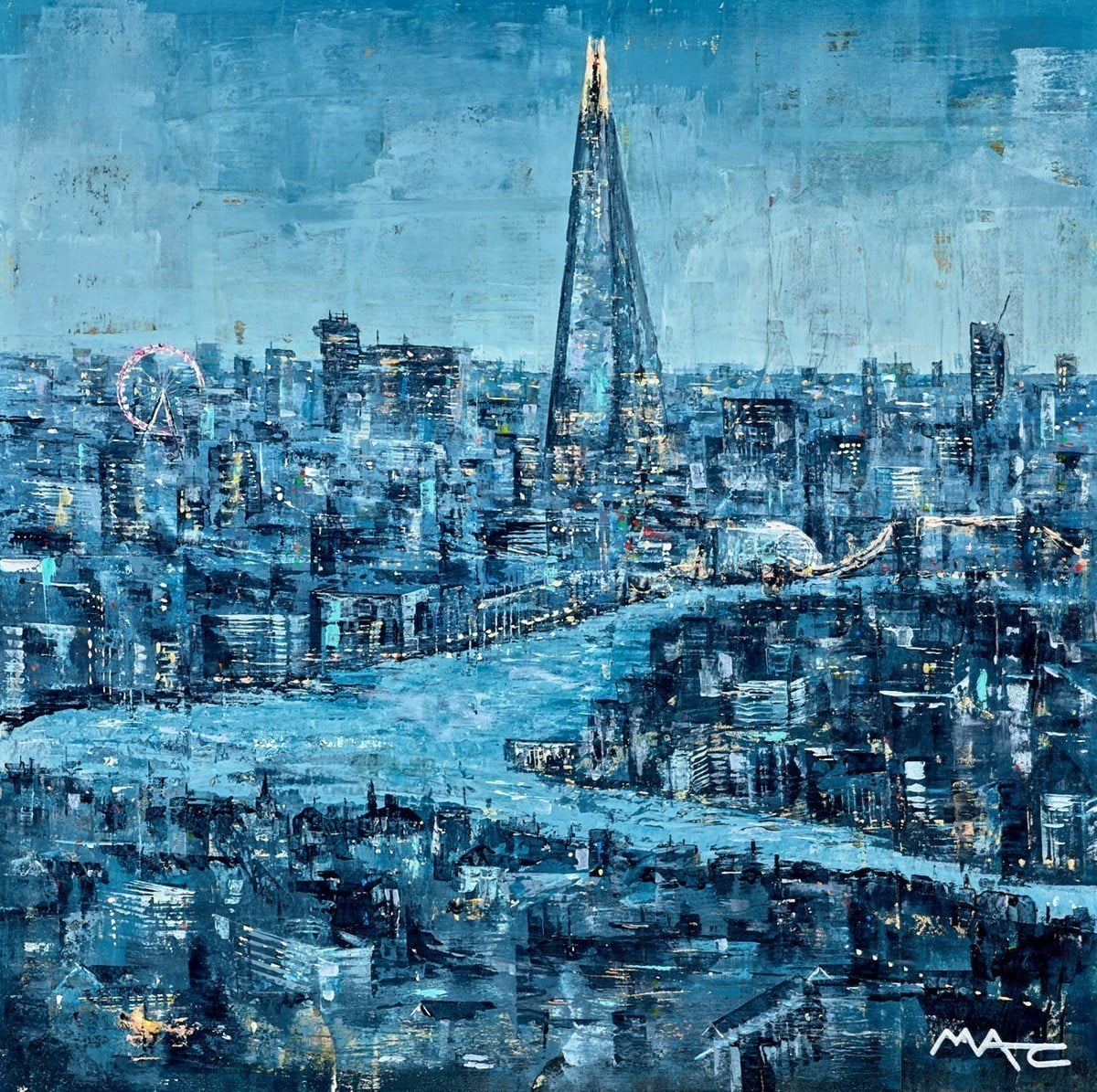 Goodnight London ~ Mark Curryer