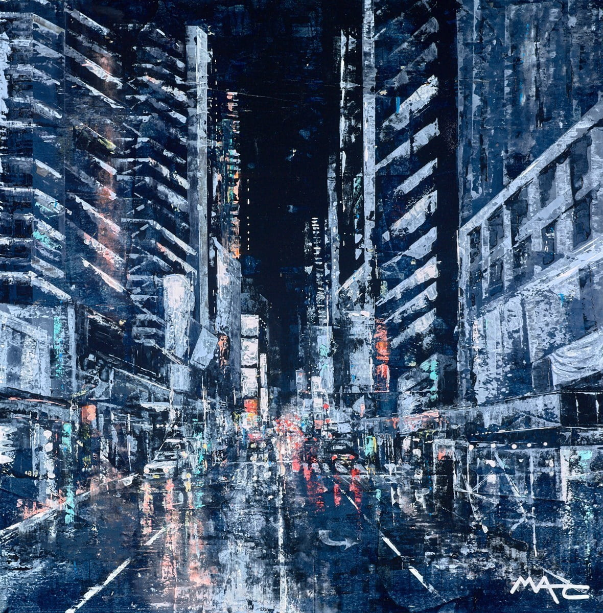 Heading to Time Square NYC ~ Mark Curryer