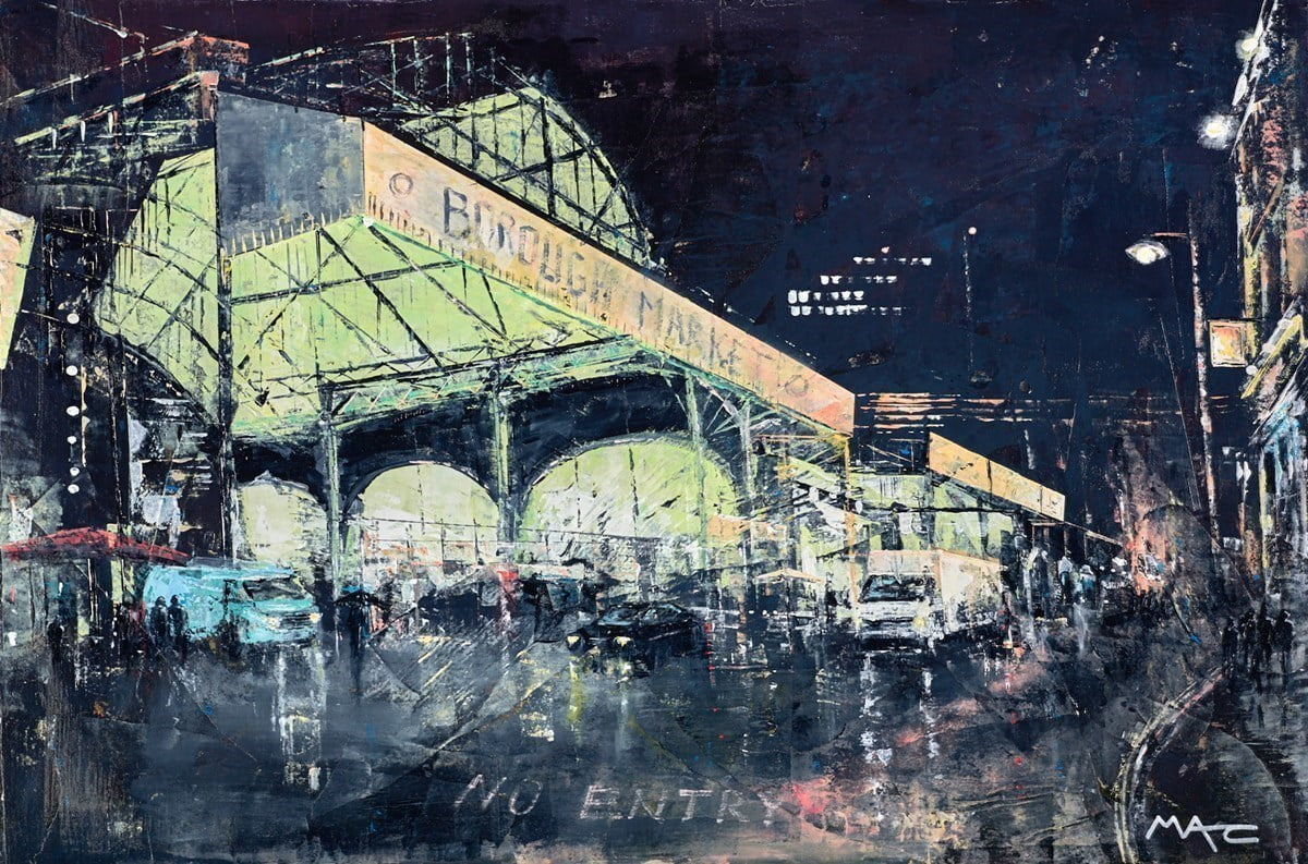 Late Night Restock, Bourough Market, London ~ Mark Curryer