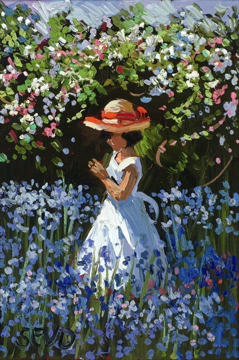 Bluebell and Blossoms ~ Sherree Valentine Daines