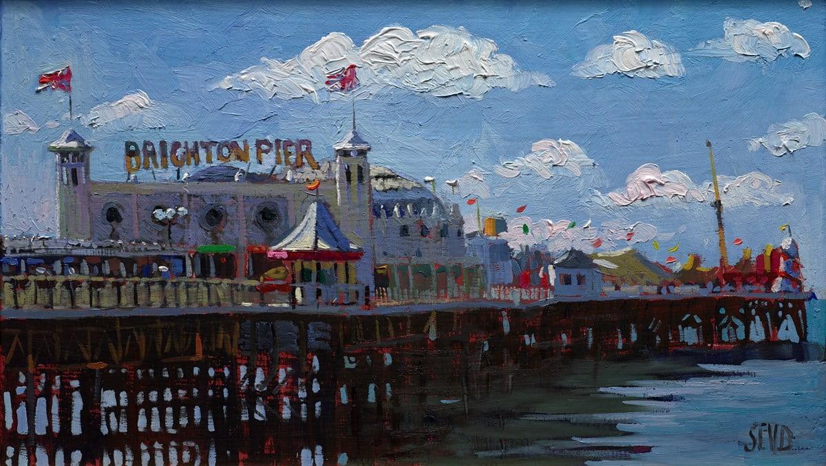 Brighton Pier, Sunny Afternoon ~ Sherree Valentine Daines