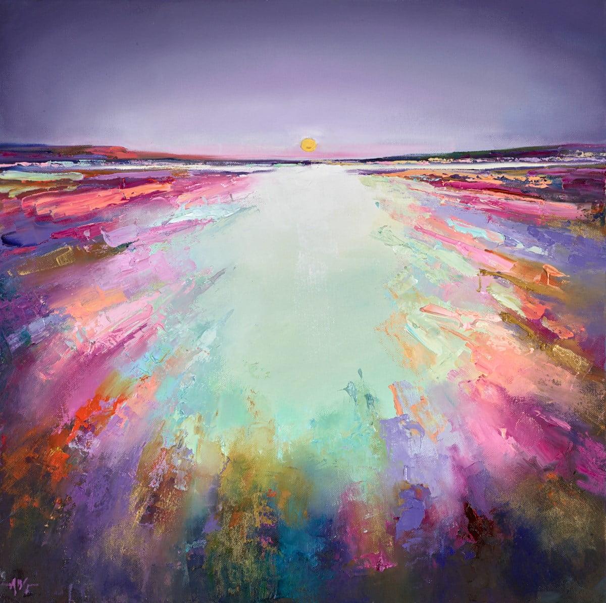 Purple Skies ~ Anna Gammans