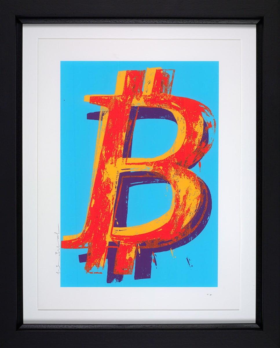 Bitcoin (Blue) ~ Mr Brainwash