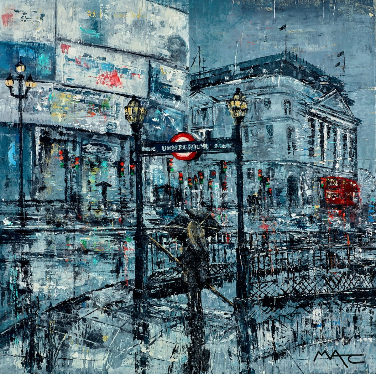 You Can See The Eye From Piccadilly ~ Mark Curryer