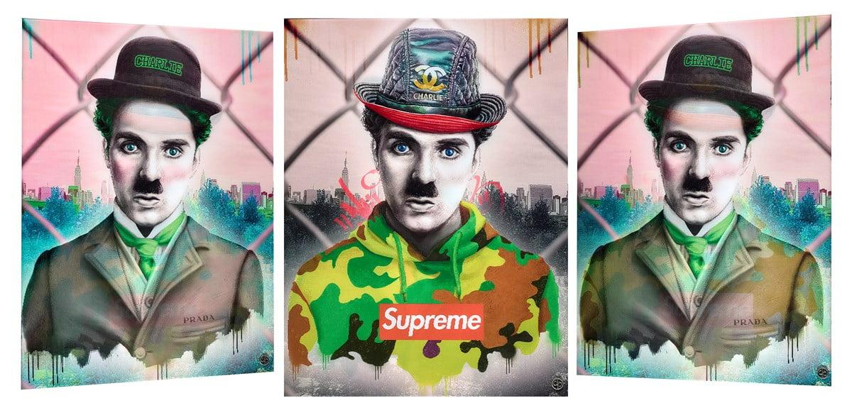 Charlie Chaplin ~ Dan Pearce