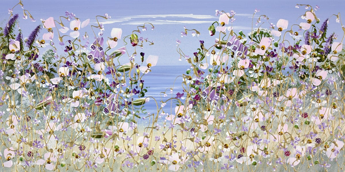 The View Across the Sea III ~ Mary Shaw