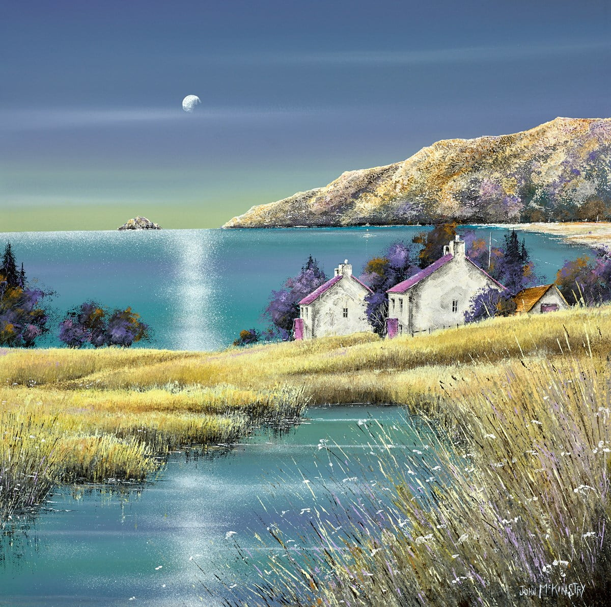 Moonshine ~ John Mckinstry