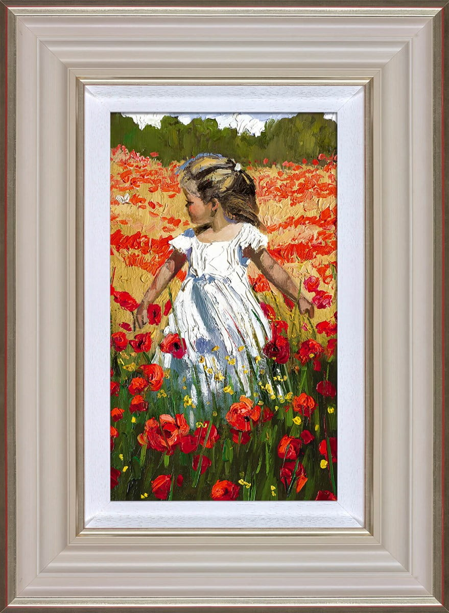 The Butterfly Amongst the Poppies ~ Sherree Valentine Daines