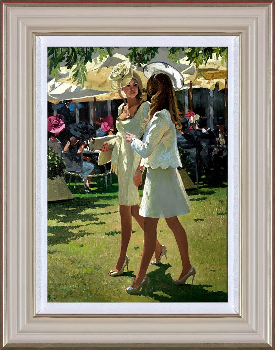 The Colour and Glamour of Ascot ~ Sherree Valentine Daines