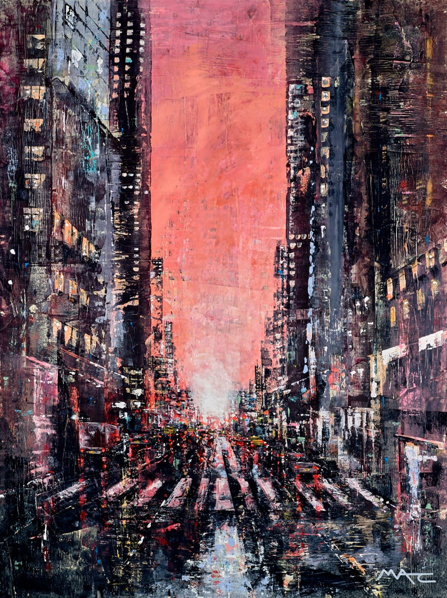 City Sunset NYC ~ Mark Curryer