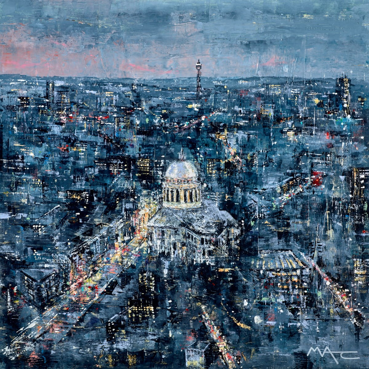 Now Thats a Lot of City, St Pauls, London ~ Mark Curryer