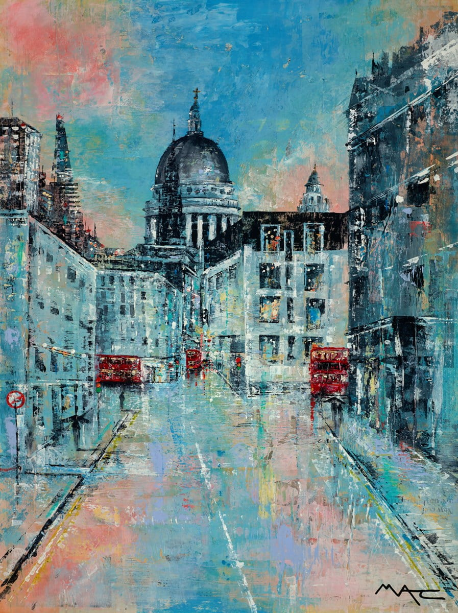 Early Evening Showers, London ~ Mark Curryer