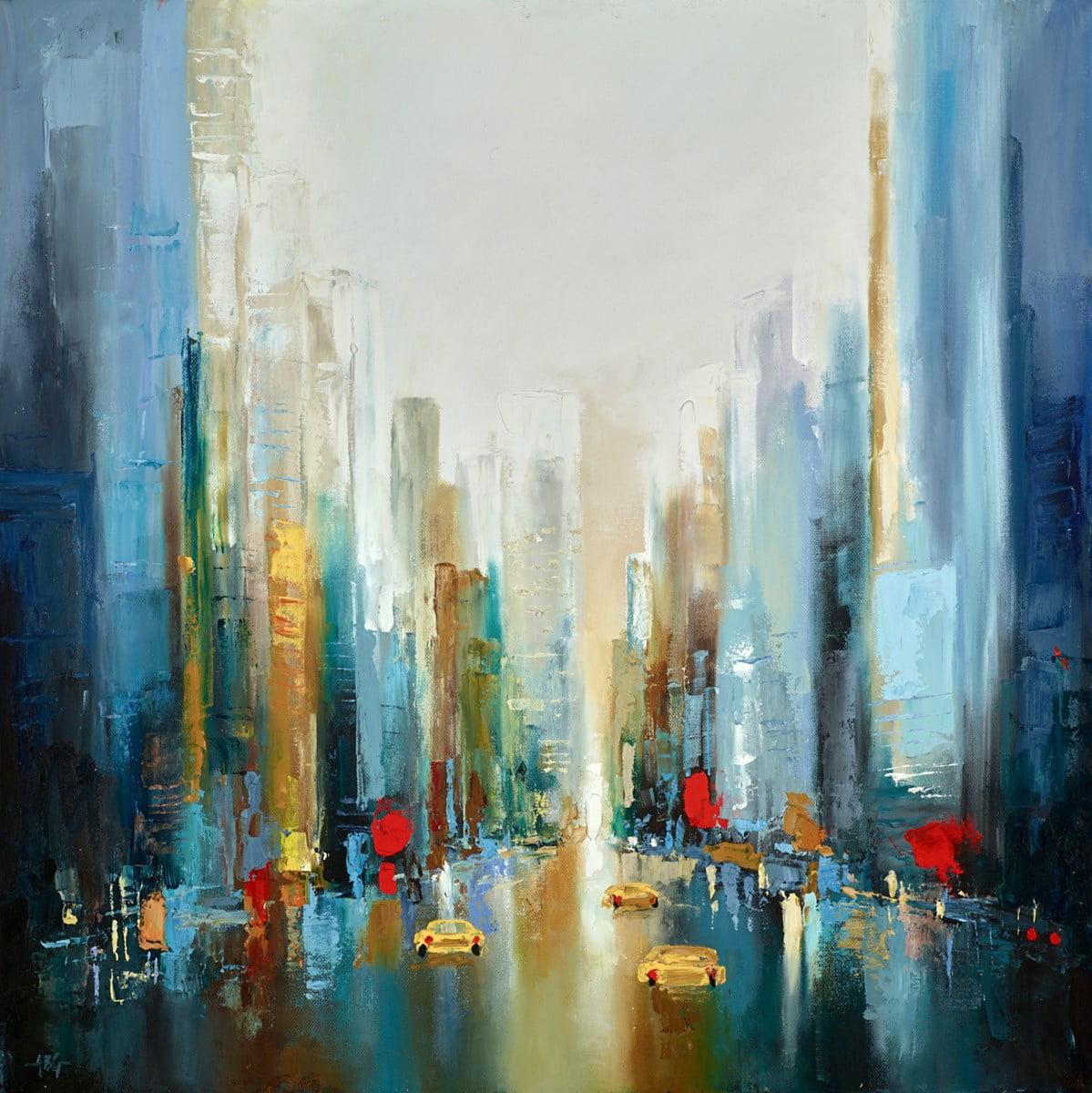 City Skyline ~ Anna Gammans