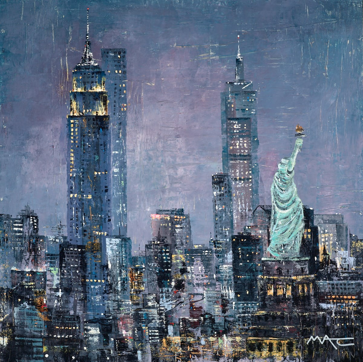 A Watching Brief, NYC ~ Mark Curryer