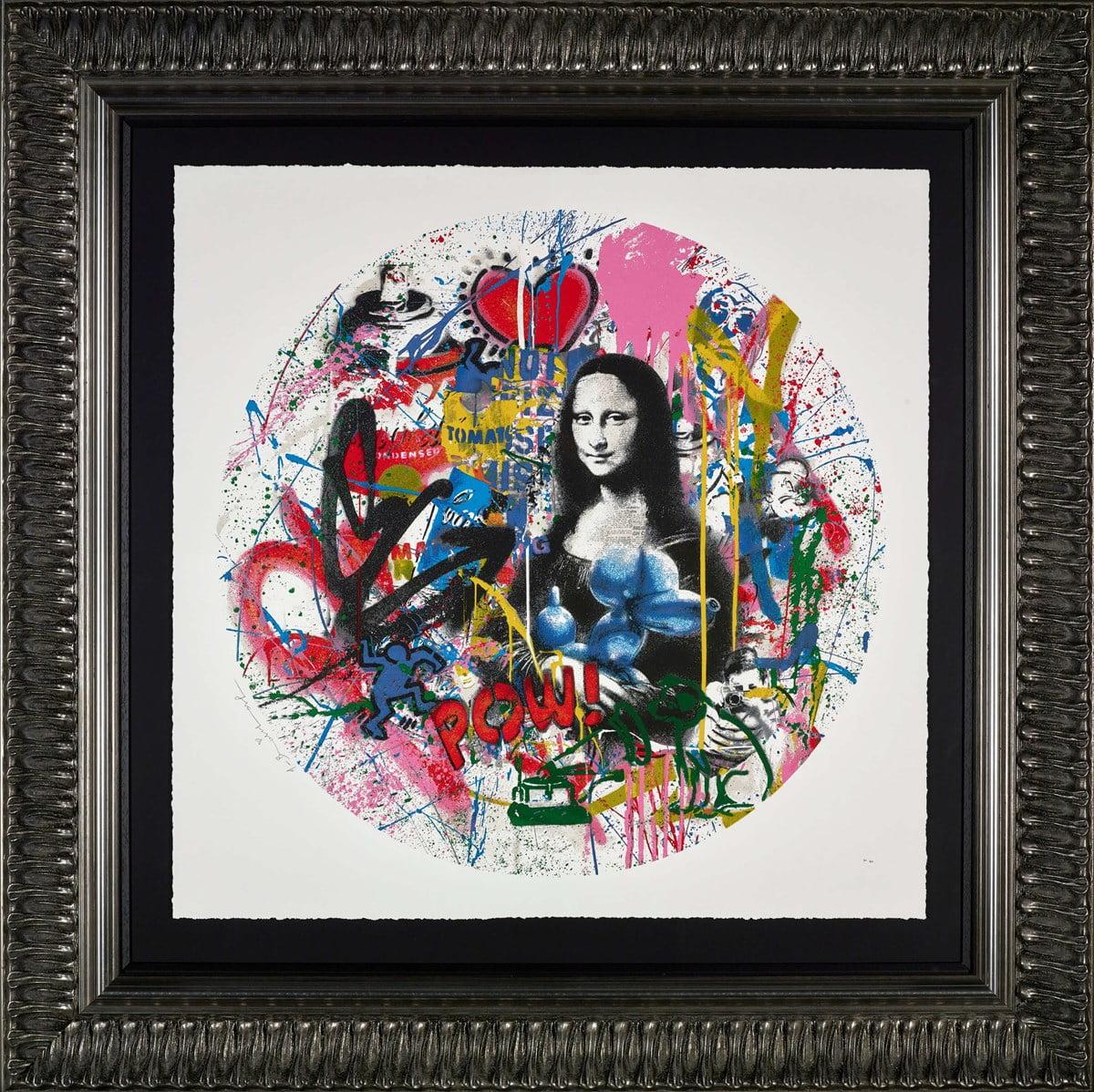 Roundabout - Mona Lisa ~ Mr Brainwash