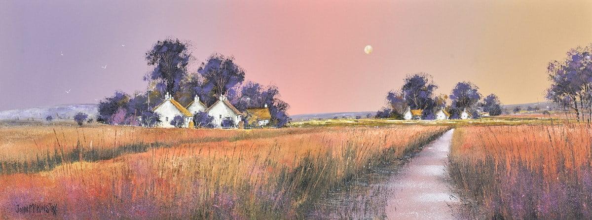 Grassland Dawn ~ John Mckinstry