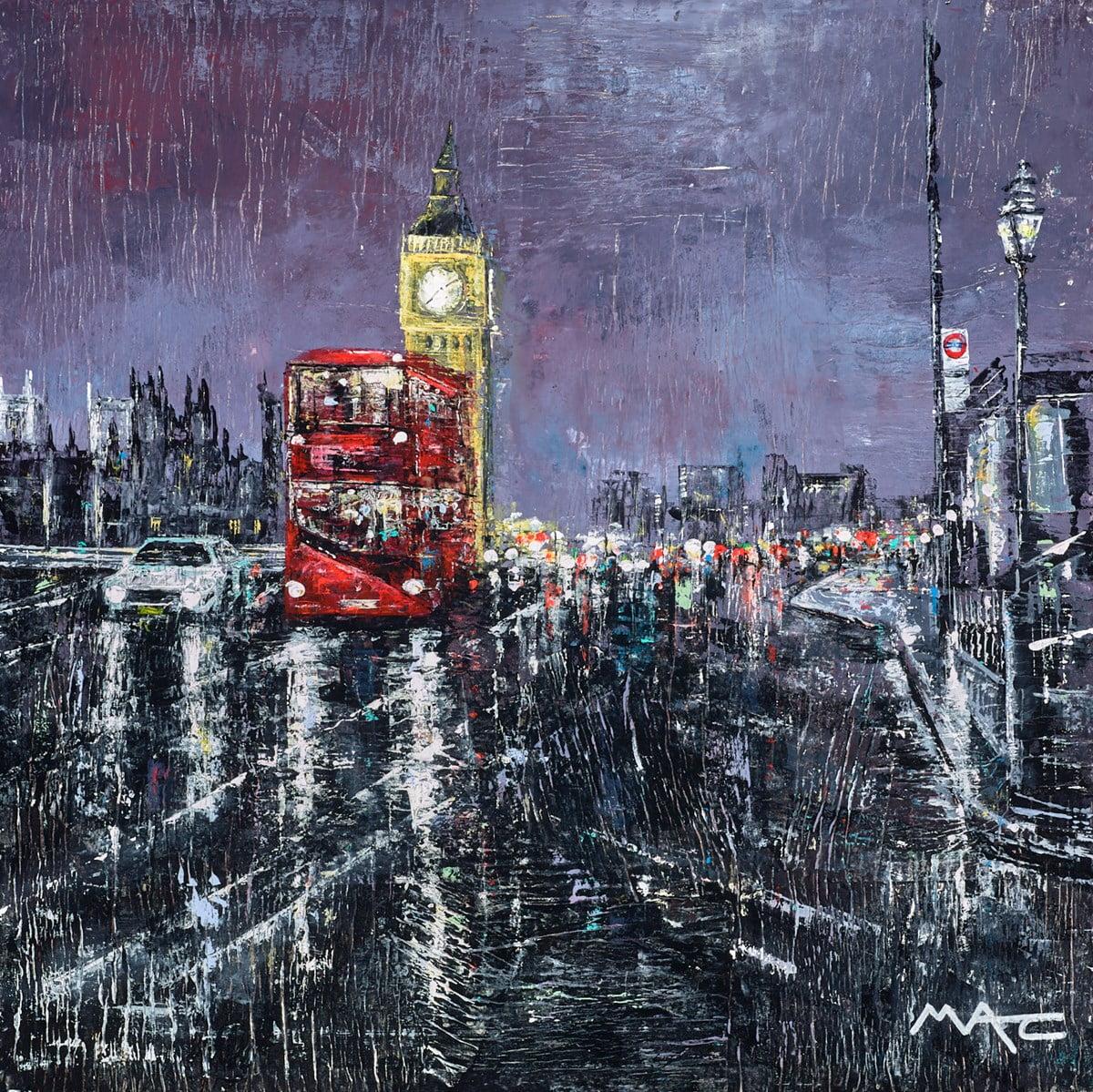A Bit of Old School Commuting, London ~ Mark Curryer