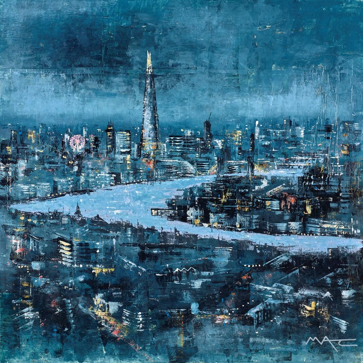 London All The Lights ~ Mark Curryer