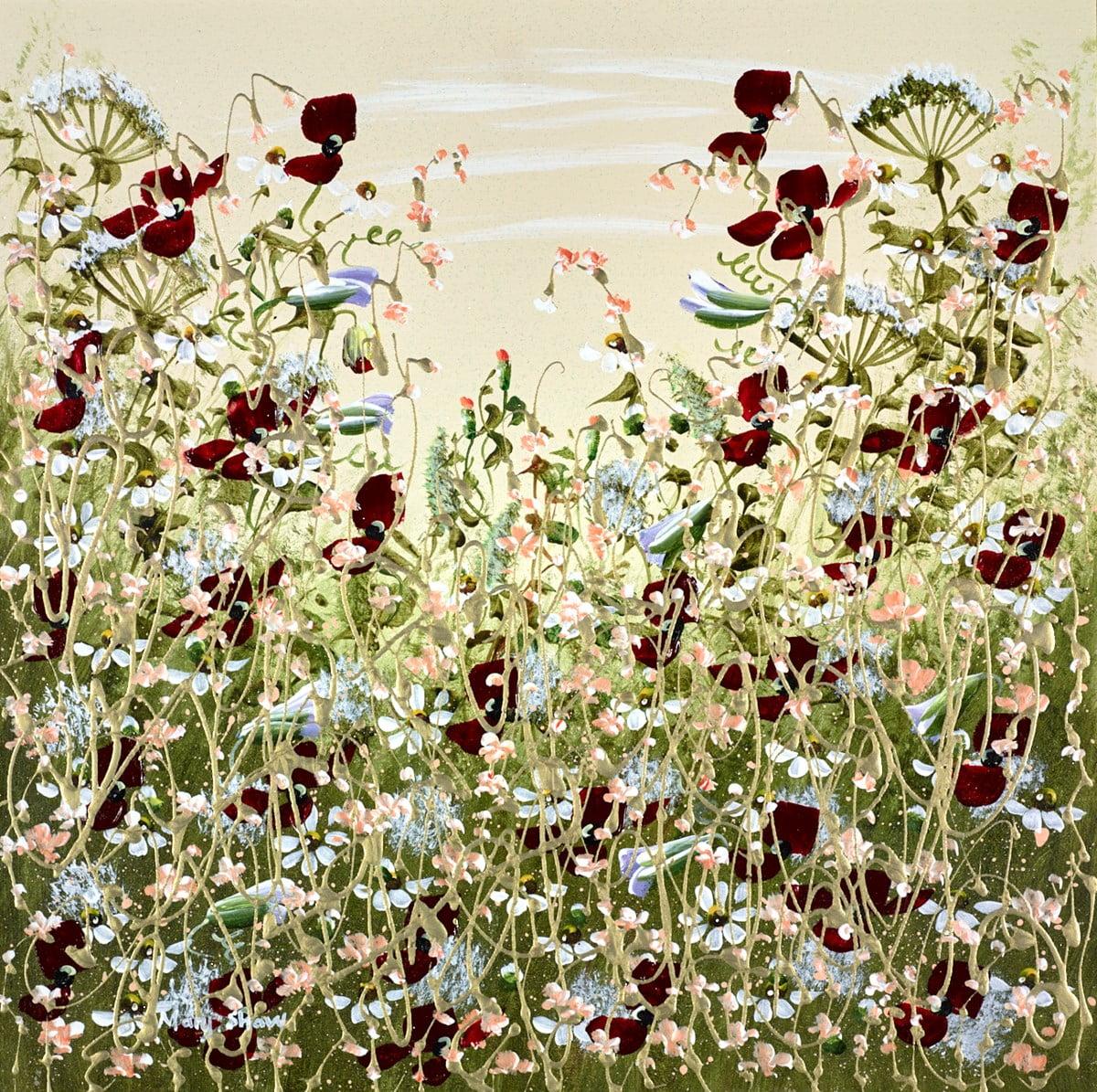 Red Petals VI ~ Mary Shaw