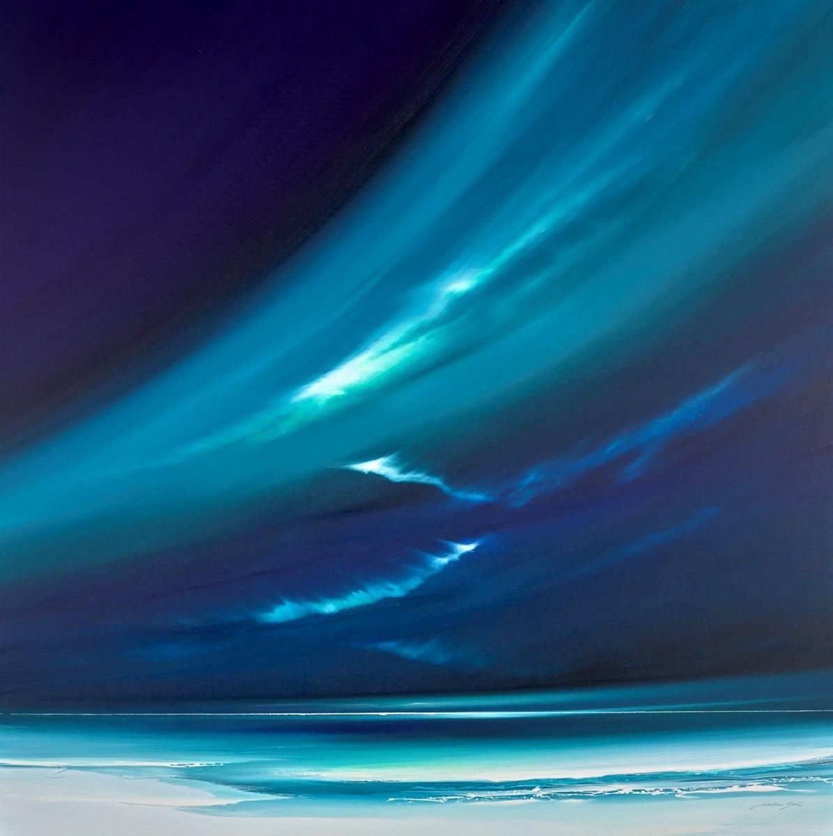 Northern Lights at Night ~ Jonathan Shaw