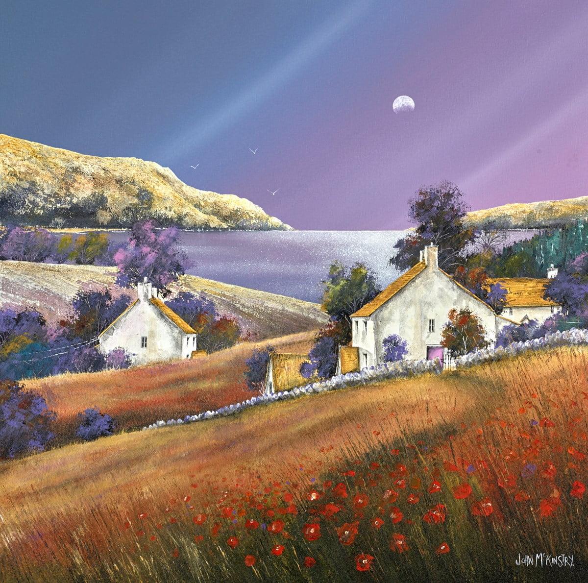 The Poppy Path ~ John Mckinstry